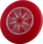 Фрисби для алтимата Discraft Ultra-Star Dark Red